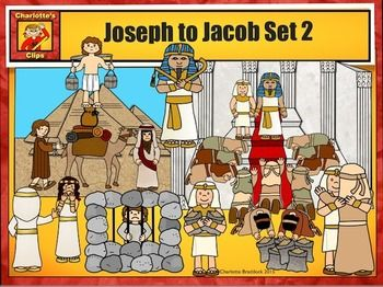 Joseph bible character clipart png free library Jacob to Joseph: Bible Series Set 2 by Charlotte's Clips ... png free library