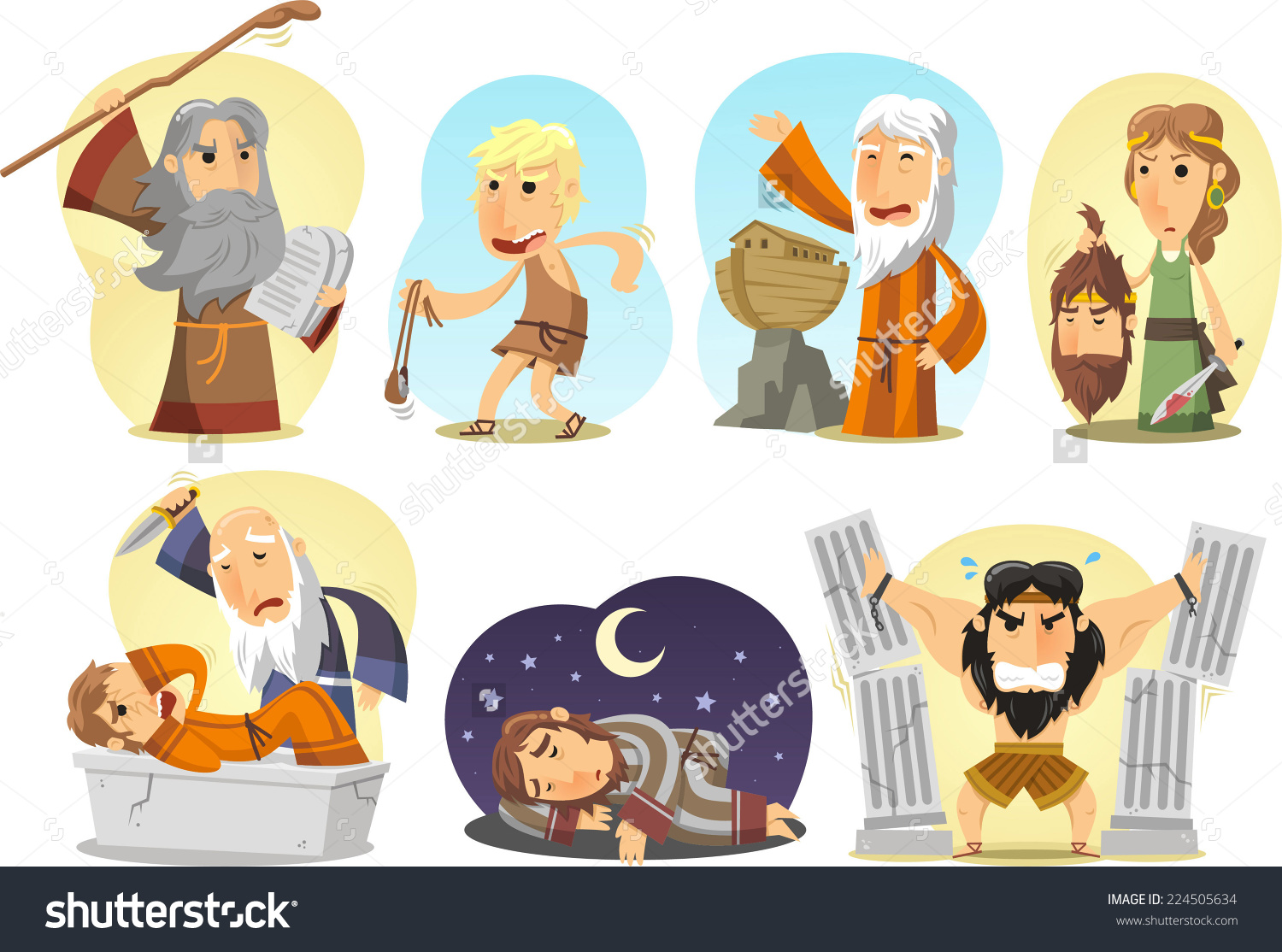 Joseph bible character clipart svg free download Old Testament Torah Jewish Bible Main Stock Vector 224505634 ... svg free download