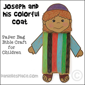 Joseph bible character clipart clipart library Free Sunday School Lesson for Children -Joseph - A Very Colorful Story clipart library