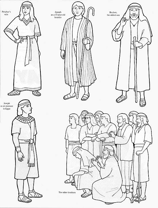 Joseph bible character clipart vector freeuse library 17 Best images about Sunday school - Joseph on Pinterest | Brother ... vector freeuse library