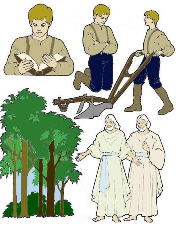 Joseph smith first vision clipart svg royalty free library Joseph smith first vision clipart 3 » Clipart Portal svg royalty free library