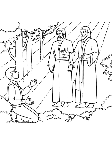 Joseph smith first vision clipart clip library download The First Vision: Joseph Sees God the Father and Jesus Christ clip library download