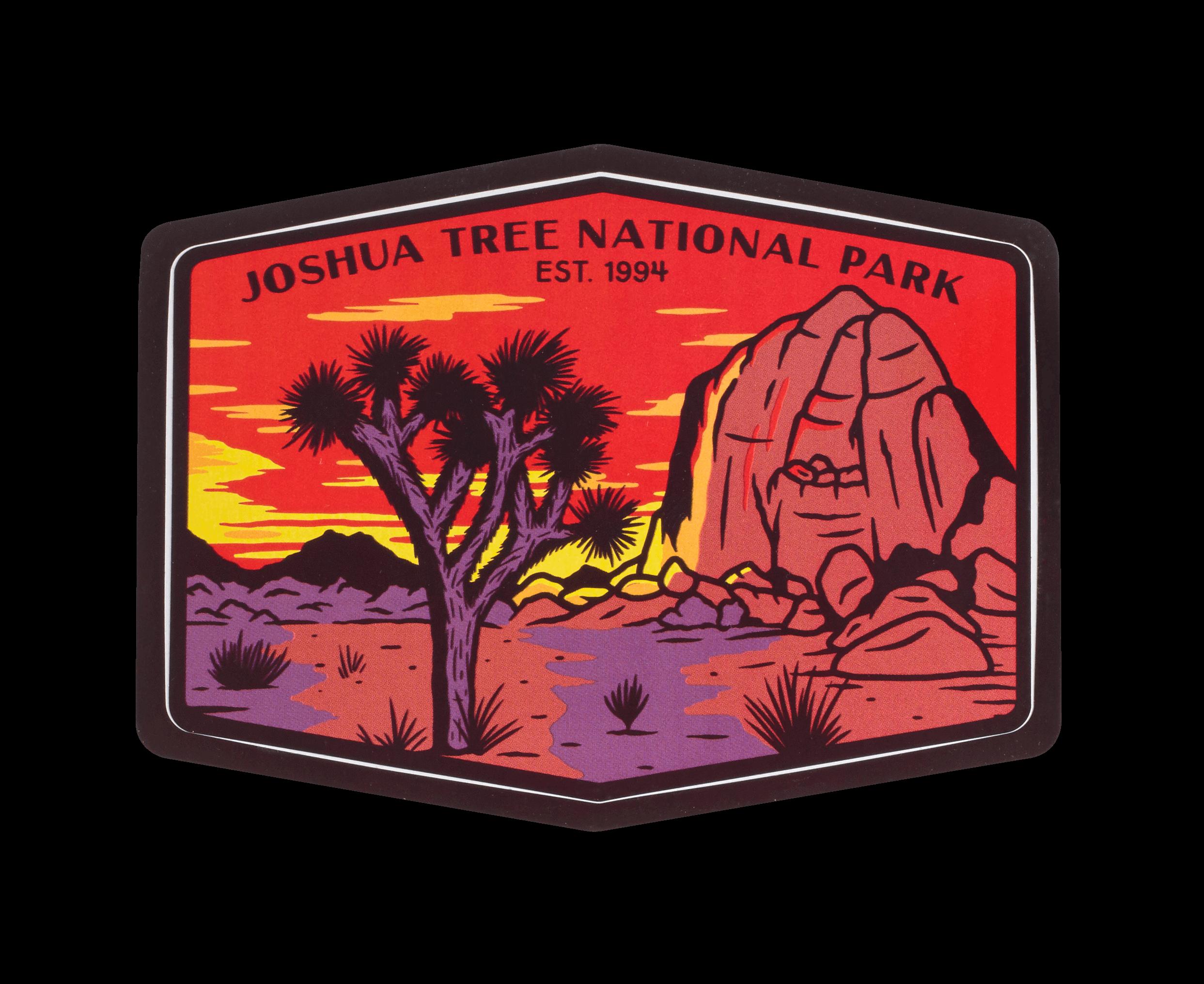 Joshua tree national park clipart clip free library Joshua Tree National Park Sticker clip free library