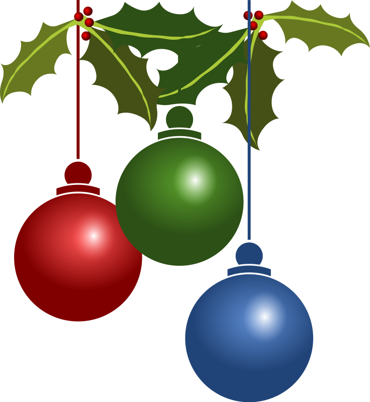 Tree ornament clipart picture library Free Animated Christmas Clipart (53+) picture library