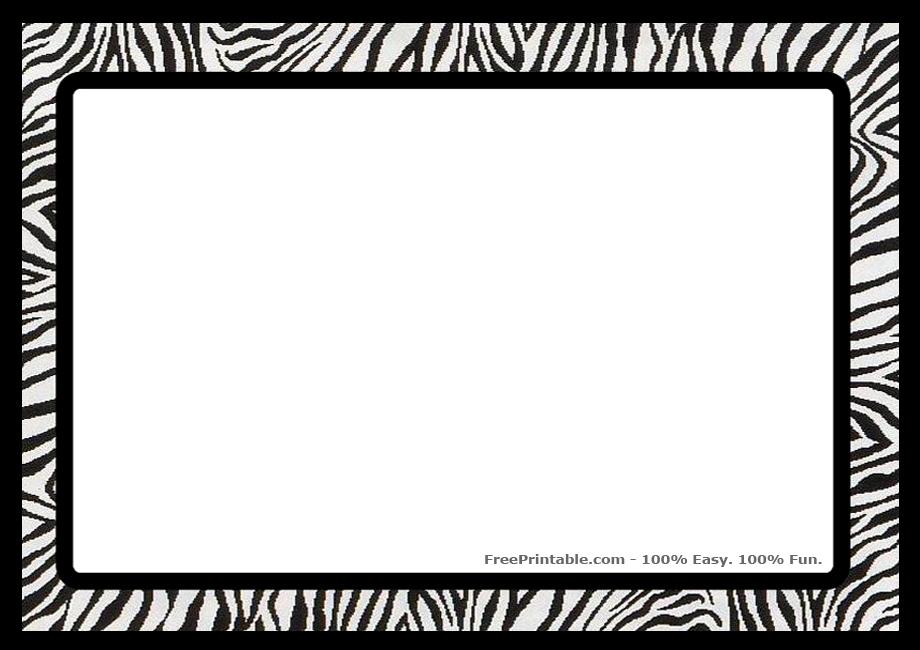 Jpeg clip art free banner stock Zebra Border Clip Art & Zebra Border Clip Art Clip Art Images ... banner stock