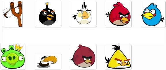 Jpeg clip art free clipart stock Angry Birds Border Clipart - Clipart Kid clipart stock