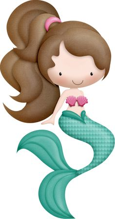 Jpeg clip art images svg royalty free BUBBA MERMAIDS - Clip art set in premium quality 300 dpi, Png and ... svg royalty free