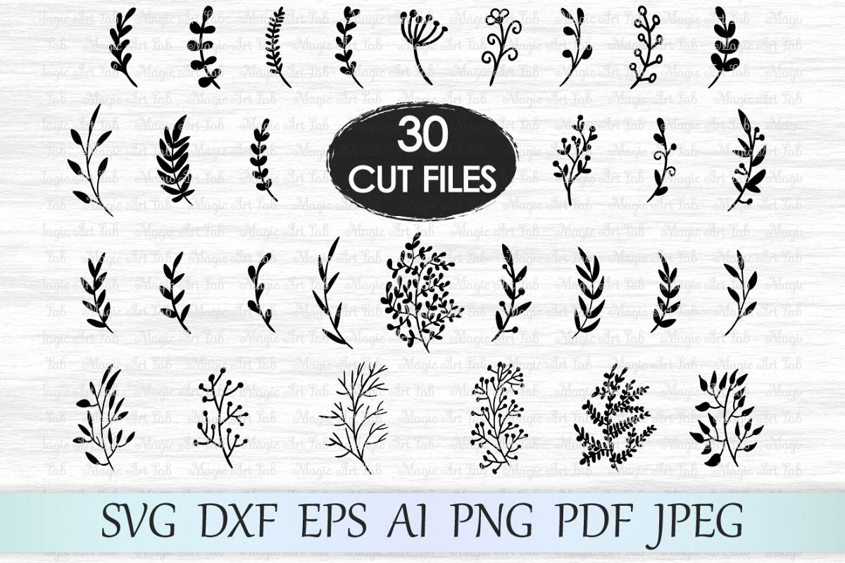 Jpeg clipart of leaf branch use for logos clip freeuse download Leaf svg file, Leaves svg file, Branches svg file, Wedding invitation  clipart, Hand drawn leaves, Ornament svg file, Foliage cut file, Plant clip freeuse download