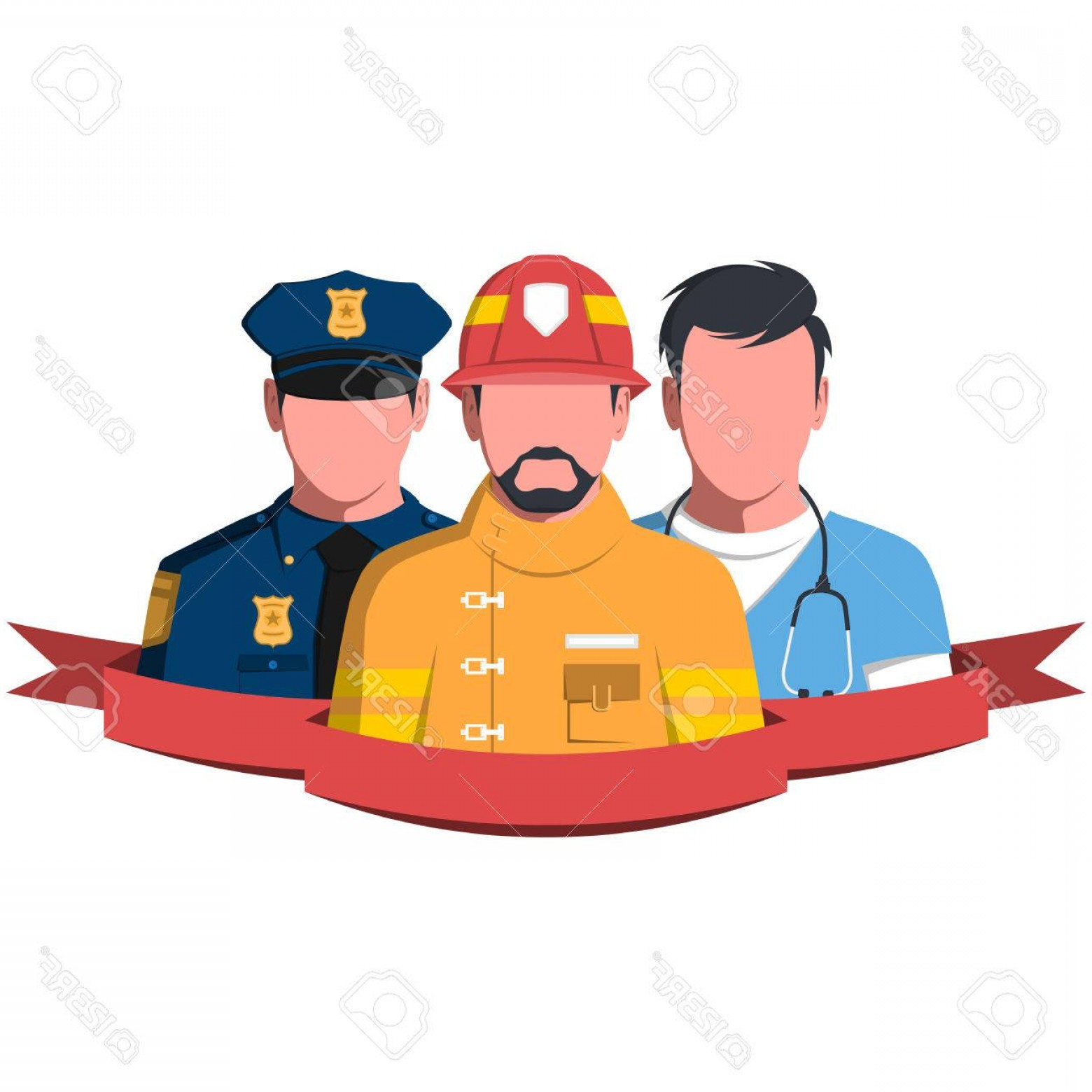 Jpeg clipart silhouette of emergency service patients clip art free stock Photostock Vector Silhouettes Of Rescue Workers People Of Emergency ... clip art free stock
