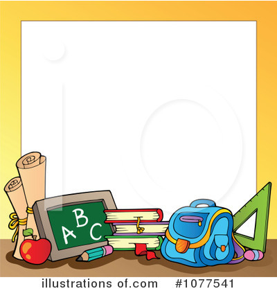 Jpeg school boarder clipart image free stock Free school border clipart - ClipartFest image free stock