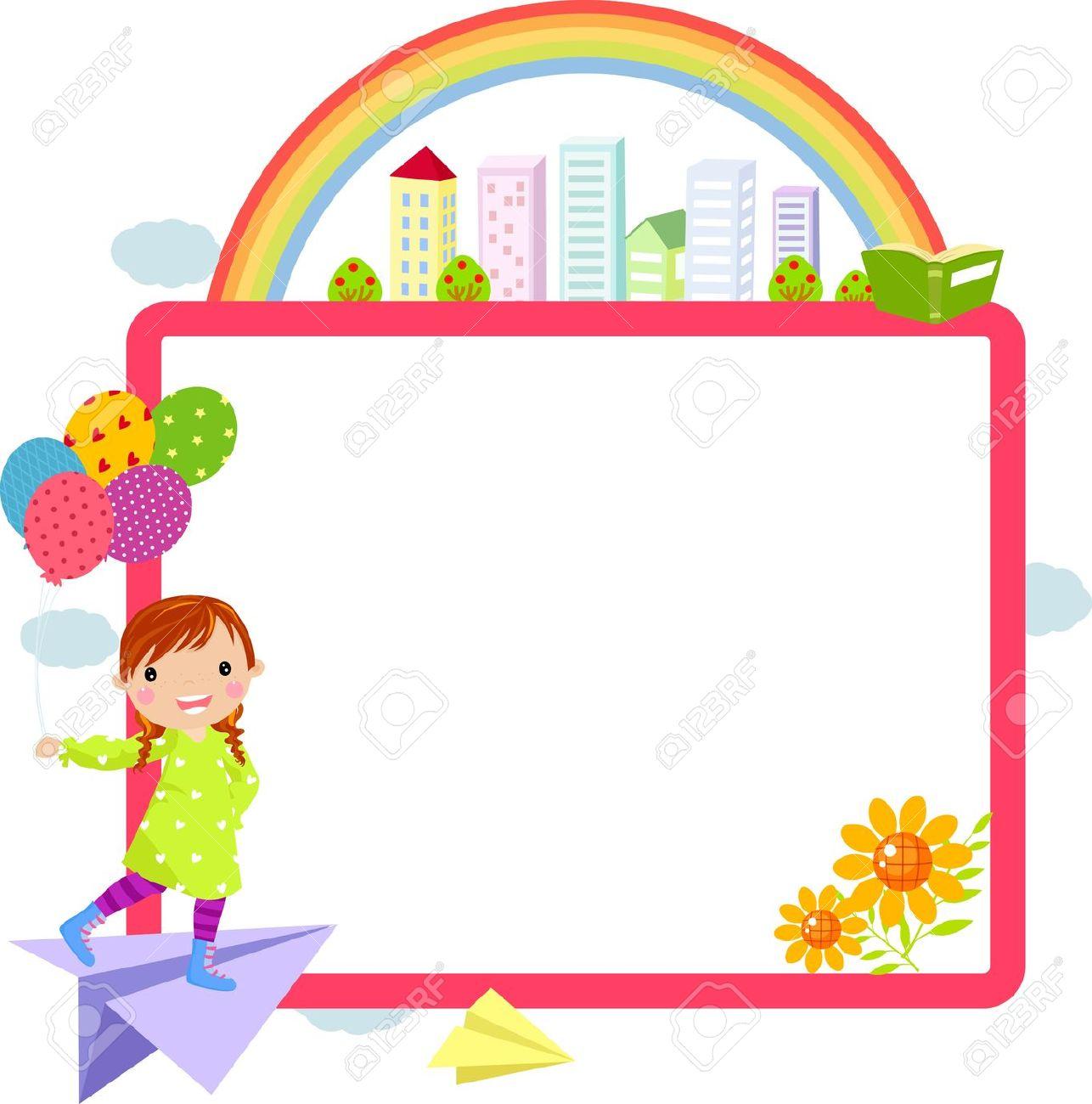Jpeg school boarder clipart clip art royalty free stock Cute school border clipart - ClipartFest clip art royalty free stock