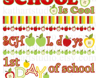 Jpeg school boarder clipart jpg transparent download Apple border school clipart - ClipartFest jpg transparent download