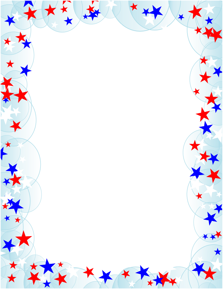 Red white and blue star border clipart clipart royalty free library white border png | Free Borders and Clip Art | Downloadable Free ... clipart royalty free library