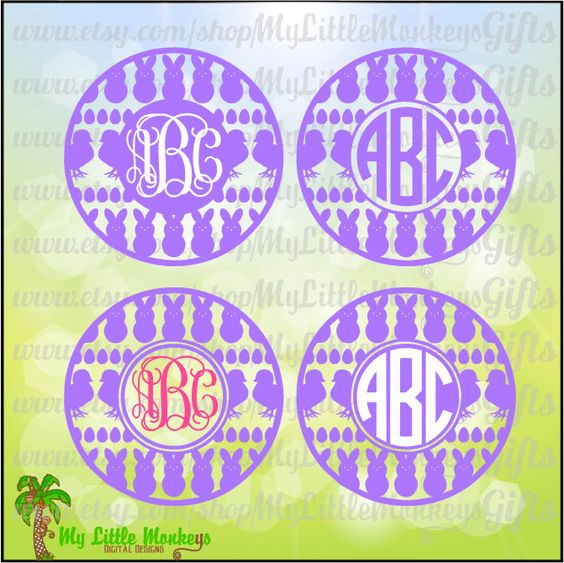 Jpeg to clipart graphic library library Easter Icons Monogram Base Digital Clipart & Cut File Instant ... graphic library library