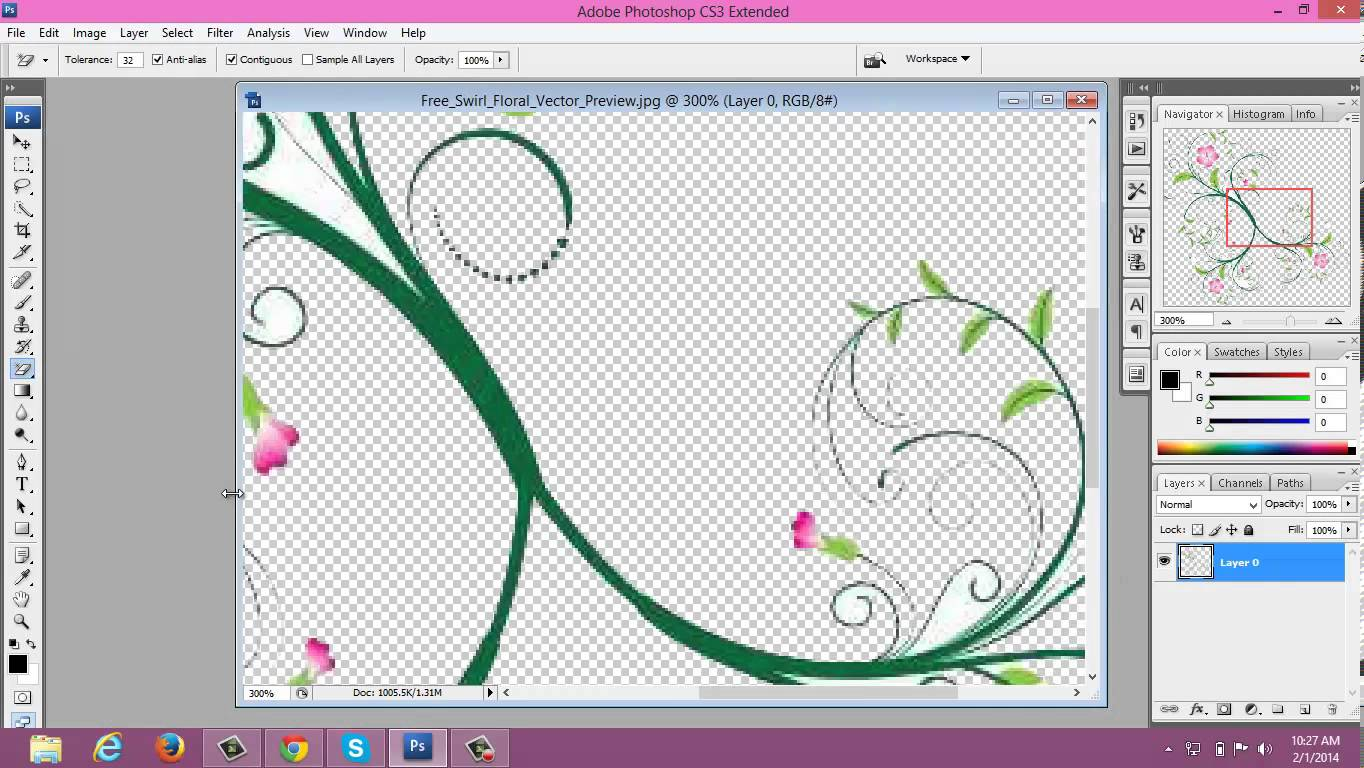 Jpeg to clipart clip art black and white stock MAKING CLIP-ARTS USING PHOTOSHOP (jpeg to png) - YouTube clip art black and white stock