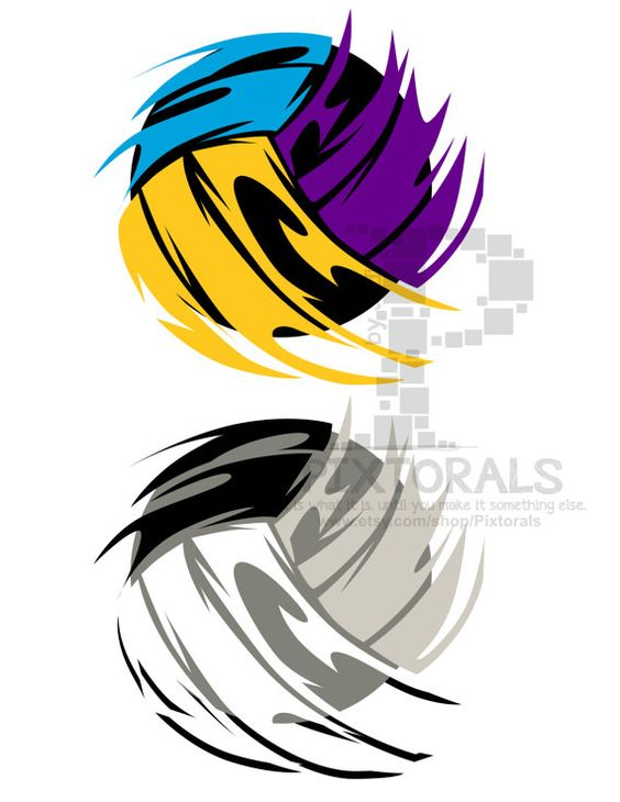 Jpeg to clipart picture royalty free library Volleyball! EPS file, Vector and jpeg, png, sketchy, Screen ... picture royalty free library