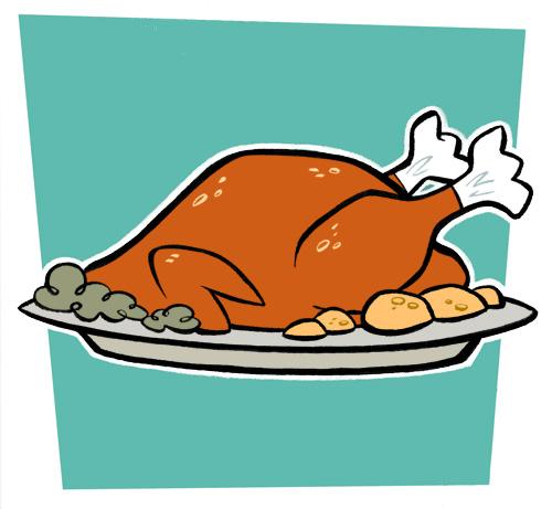 Jpeg turkey clipart picture transparent stock Cooked Turkey Clipart | Chadholtz picture transparent stock