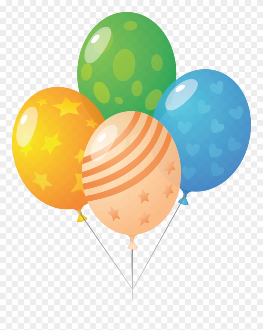Jpg clipart free picture transparent library Download Jpg Free Stock Bunch Balloons Clipart Pretty - Balloons ... picture transparent library