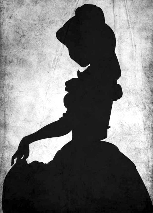 Jpg disney belle shadow clipart png transparent download 17 Best ideas about Disney Princess Silhouette on Pinterest ... png transparent download