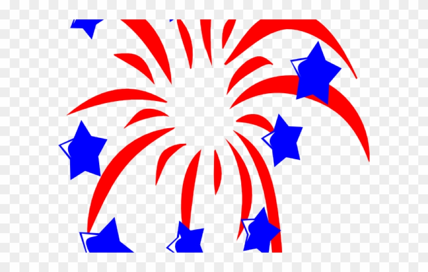 Jpg Freeuse Red White And Blue Stars Clipart - Independence Day ... graphic transparent library