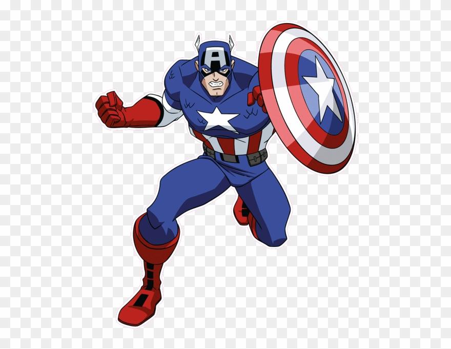 Jpg in clipart clip library download Capitán América - - Captain America Cartoon Jpg Clipart (#1205846 ... clip library download