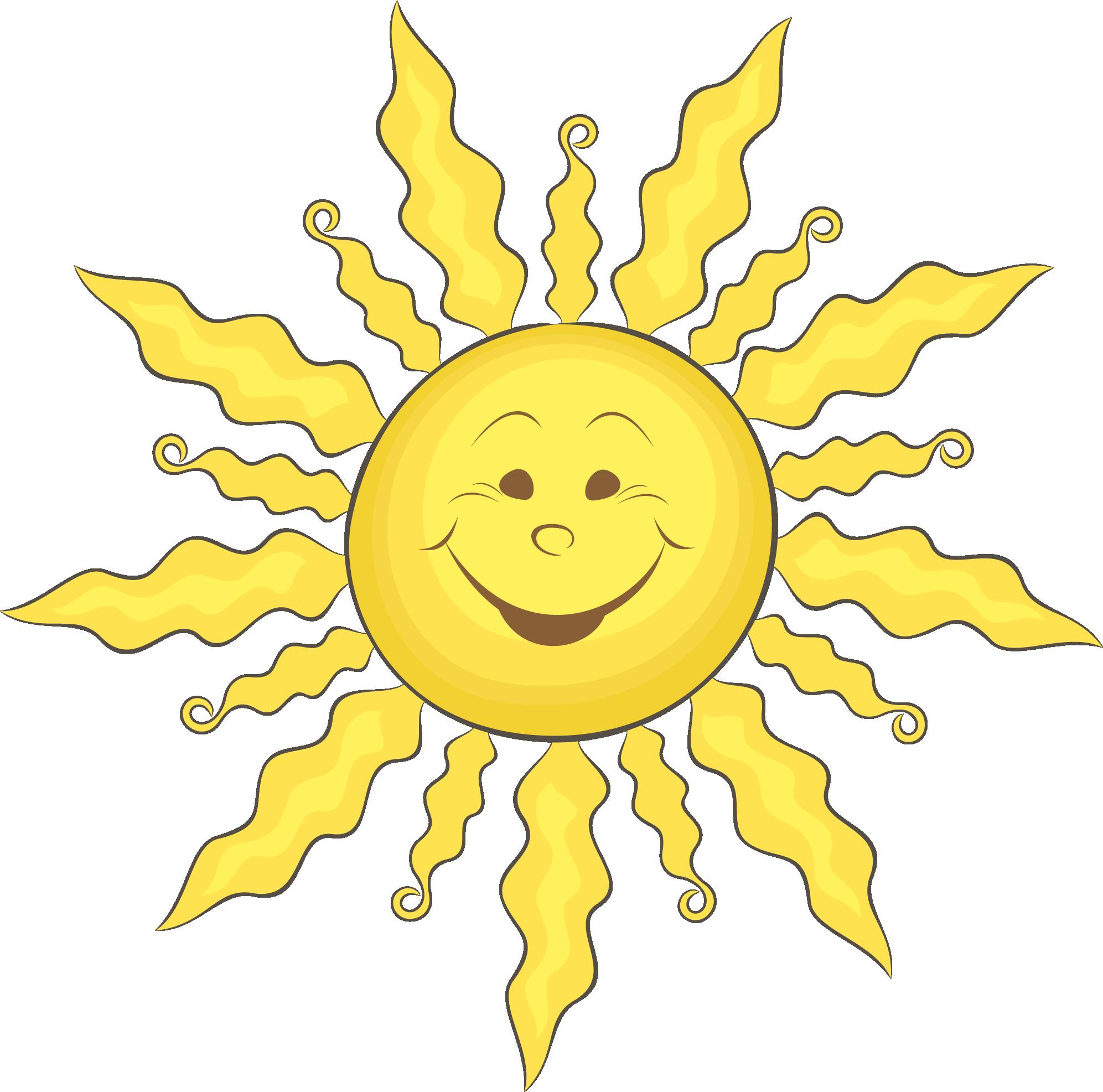 Jpg sun clipart for illustrator vector freeuse stock Cartoon Clip art - Cartoon smiling face sun vector 1993*1973 ... vector freeuse stock