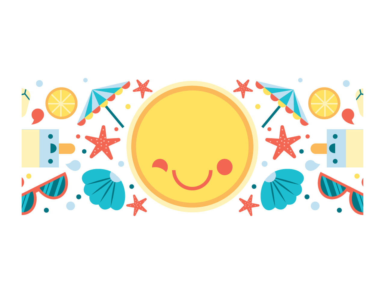 Jpg sun clipart for illustrator png library download How to create a fun summer illustration – Free Adobe Illustrator ... png library download