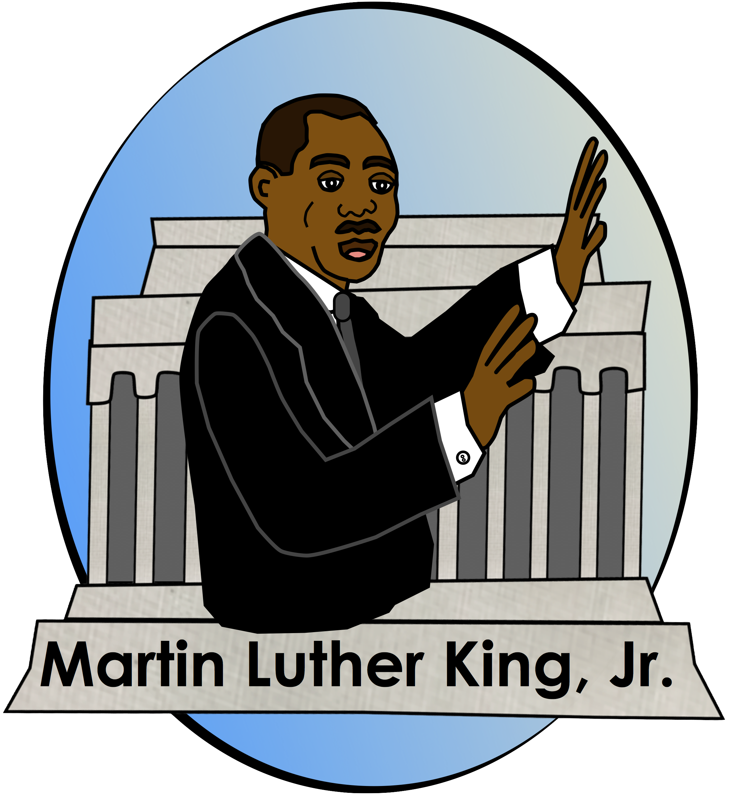 Jr clipart transparent library Martin luther jr clipart - 135 transparent clip arts, images and ... transparent library
