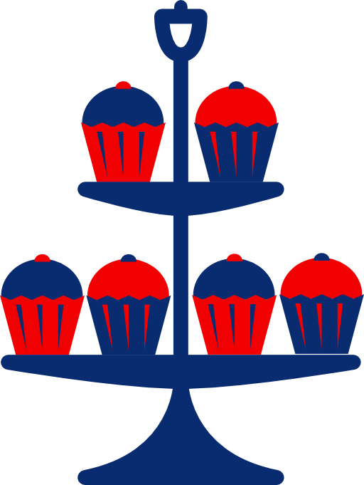 Jubilee crown clipart image royalty free Jubilee Cake Stand Blue Clipart   i2Clipart - Royalty Free Public ... image royalty free
