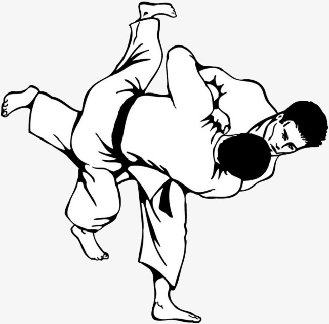 Judo images black and white clipart high res clipart library download Taekwondo Drawing | Free download best Taekwondo Drawing on ... clipart library download