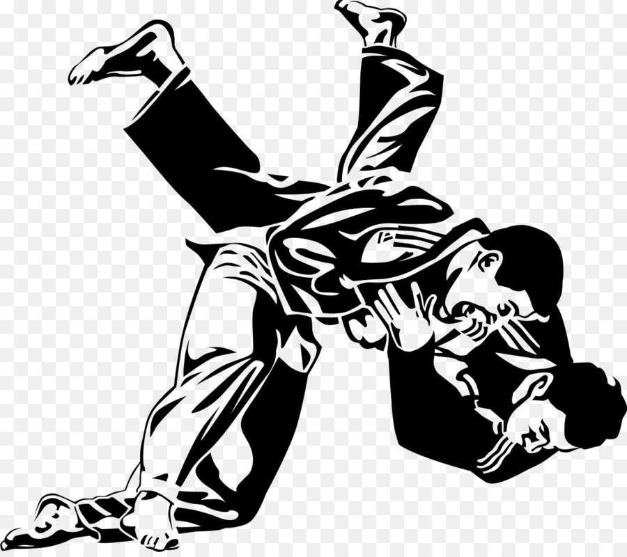 Judo images black and white clipart high res clip art black and white library Man Cartoon clipart - White, Black, Man, transparent clip art clip art black and white library