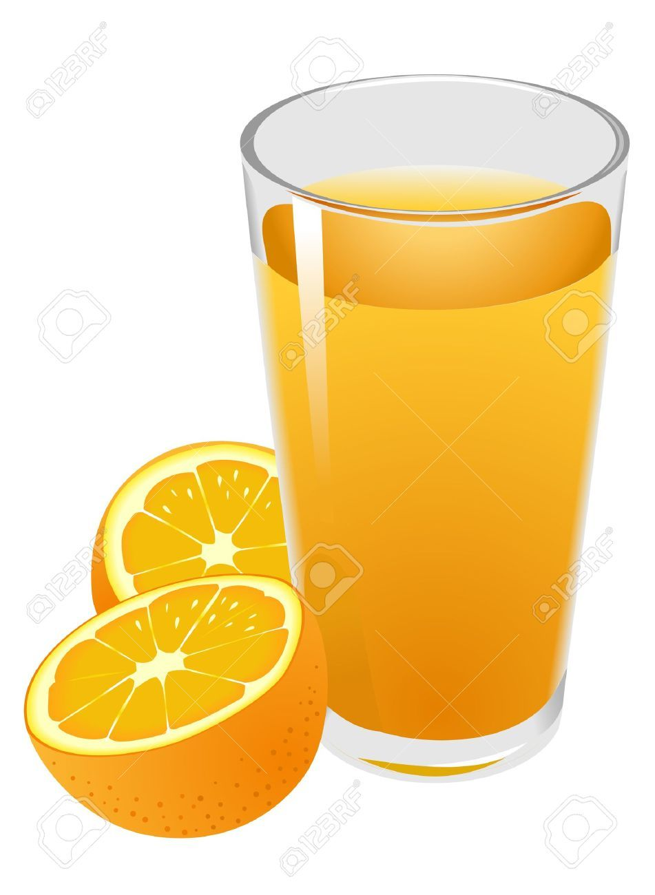 Juice images clipart jpg transparent stock Glass of orange juice clipart 2 » Clipart Portal jpg transparent stock