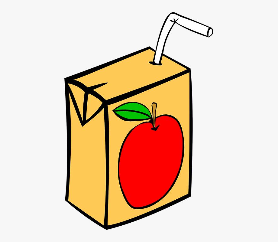 Juicebox clipart svg free download Juice Box Apple Straw Tetra Pack - Juice Clipart #295799 - Free ... svg free download