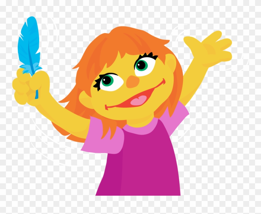 Julia nmae clipart graphic sesame Street\' Introduces A New Muppet Character With - Julia From ... graphic