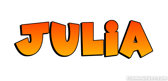 Julia nmae clipart picture library library Julia Logo | Free Name Design Tool from Flaming Text picture library library