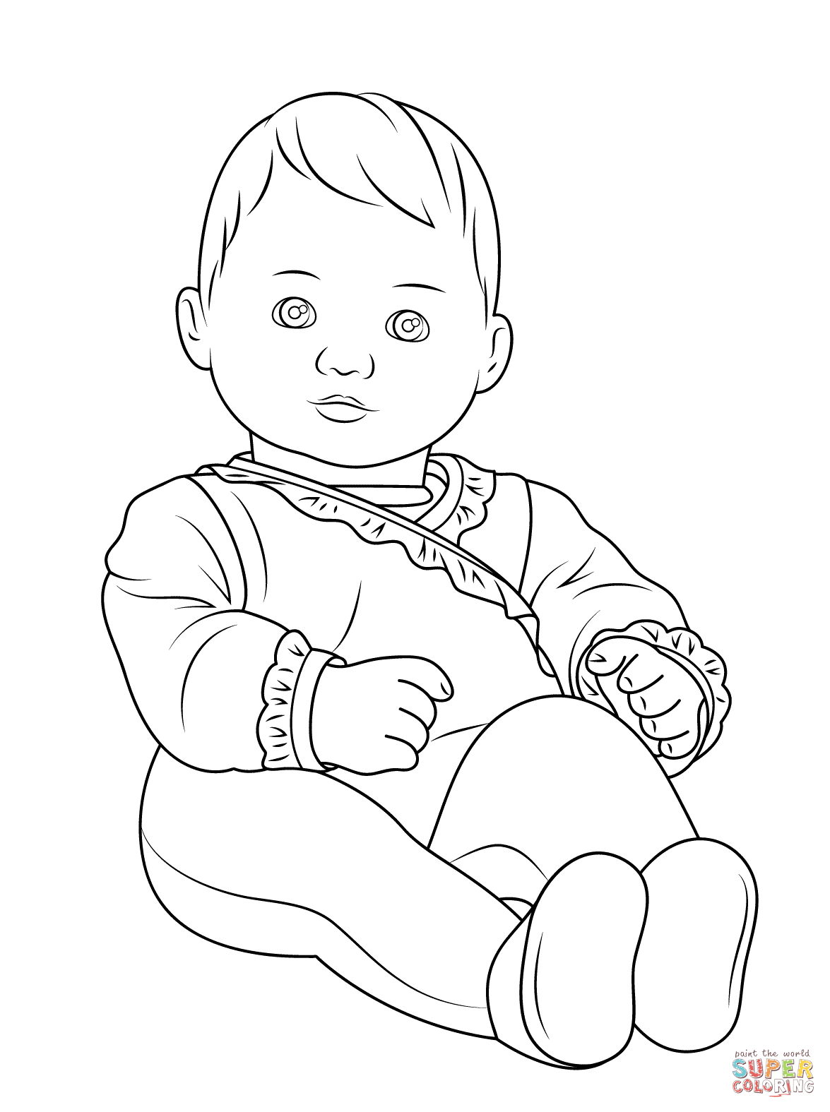 Julie american girl doll clipart at school graphic black and white American Girl coloring pages | Free Coloring Pages graphic black and white