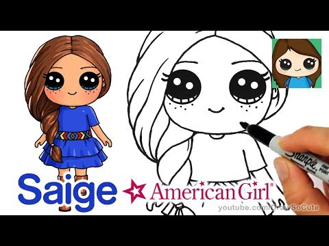 Julie american girl doll clipart at school clip art stock How to Draw Saige Easy | American Girl Doll - YouTube clip art stock