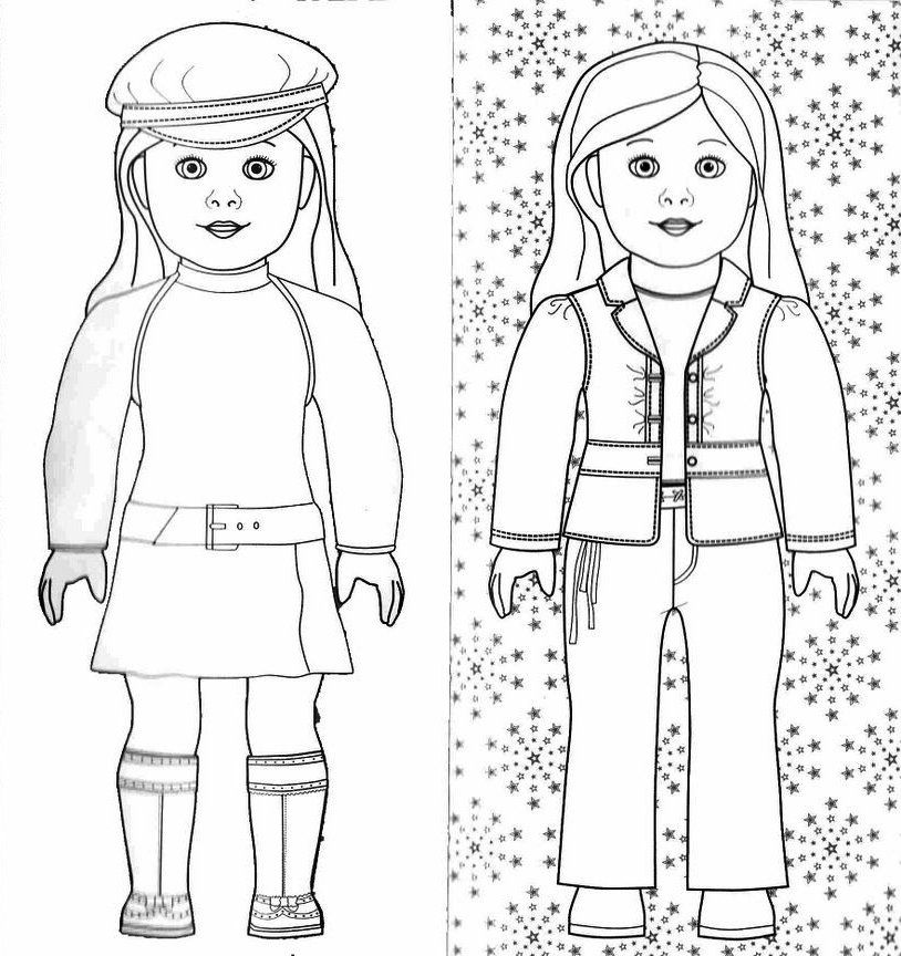 Julie american girl doll clipart at school clip art royalty free stock Free Printable American Girl Doll Coloring Pages American Girl Doll ... clip art royalty free stock