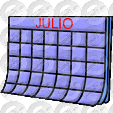 Julio clipart banner download Julio Picture for Classroom / Therapy Use - Great Julio Clipart banner download