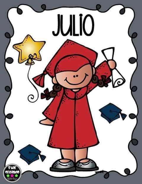 Julio clipart jpg black and white Pin by Aisha Mtz on day care paperwork   Classroom birthday, School ... jpg black and white