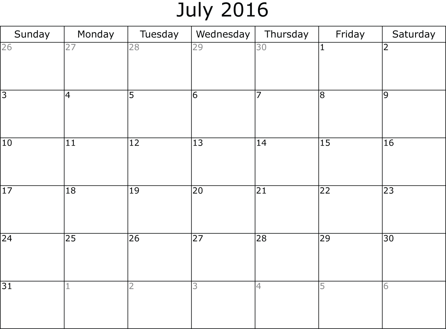 July 2016 calendar clipart clip free stock Clipart monthly planner png images - ClipartFest clip free stock