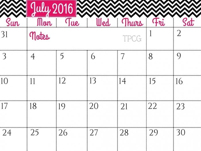 July 2016 calendar clipart stock Calendars July 2016 Printable Clip Art * Calendar Printable Template stock