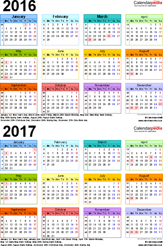July 2016 calendar sporty clipart vector free download Two year calendars for 2016 & 2017 (UK) for Excel vector free download
