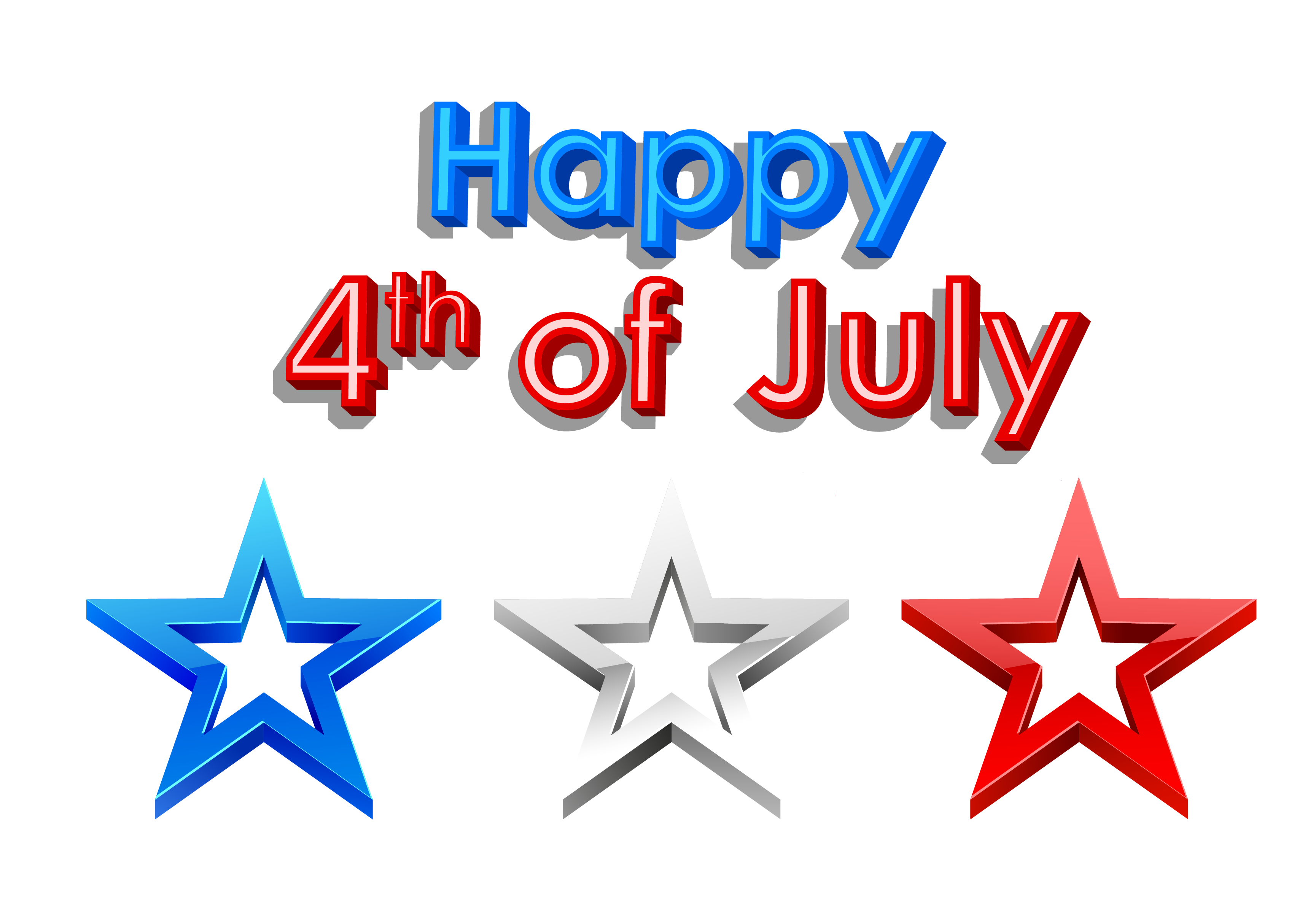 July 4 clipart vector library library Happy 4th Of July Parades, Cliparts And Decorations - 4th of July ... vector library library