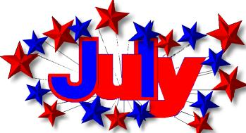 July calendar clip art png free library 17 Best images about Calendar - July on Pinterest   Clip art, July ... png free library
