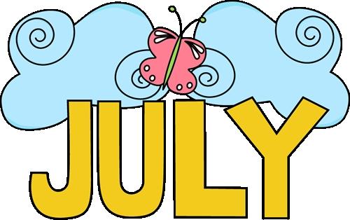 July calendar clip art vector freeuse Clipart july - ClipartFest vector freeuse