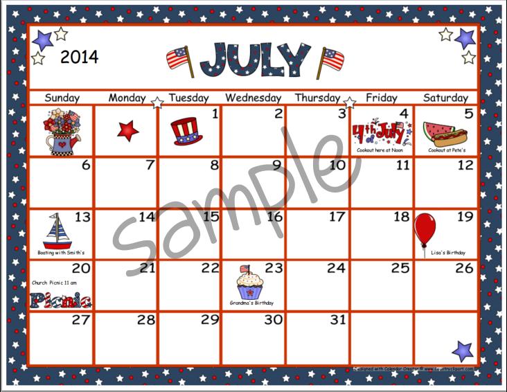 July calendar clip art royalty free download 2014 July Calendar Clip Art – Clipart Free Download royalty free download