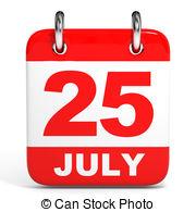 July calendar clip art jpg royalty free 25 july calendar on white background Clip Art and Stock ... jpg royalty free