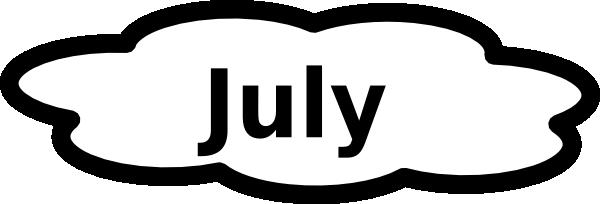 July calendar clipart transparent July Calendar Sign Clip Art at Clker.com - vector clip art online ... transparent