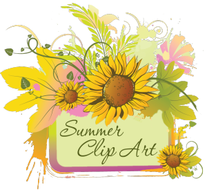 July flower clipart graphic royalty free stock Summer Clip Art of June, July, | Clipart Panda - Free Clipart Images graphic royalty free stock